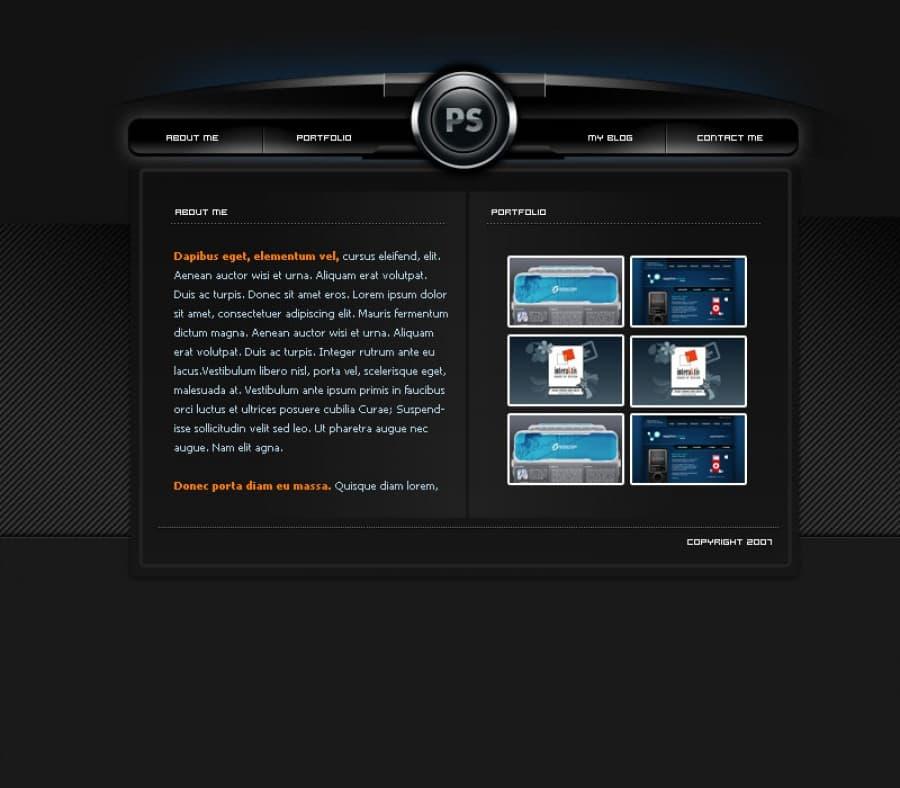 Дизайн сайта фотошоп уроки